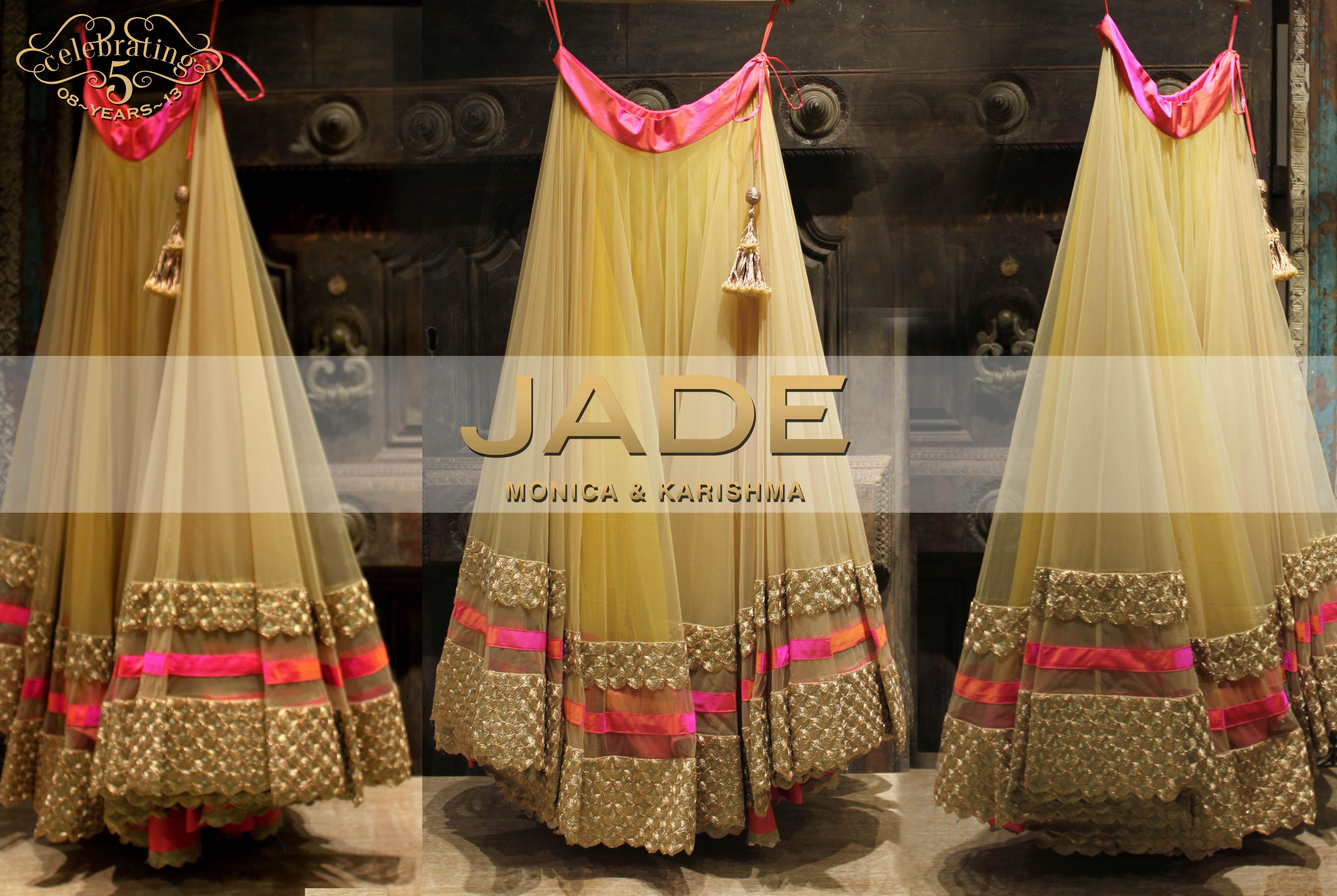 Jadeus princess like lehenga jadebymk lehenga pink tulle