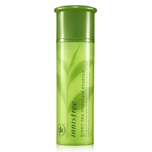 [Innisfree] Green Tea Moisture Essence 50ml Korean Cosmetics   [Feature] This highly concentrated essence is formulated with freshly squeezed green tea to offer dewiness to your dry skin while preventing dryness with its moisture barrier.