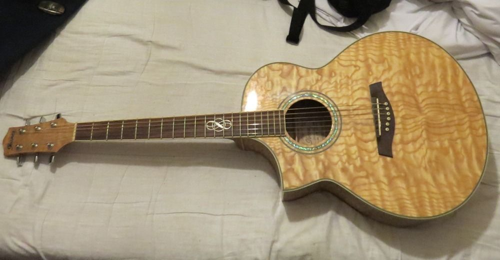Left Handed Ibanez Ew20lase Electro Acoustic Guitar United Kingdom Gumtree Electro Acoustic Guitar Guitar Ibanez