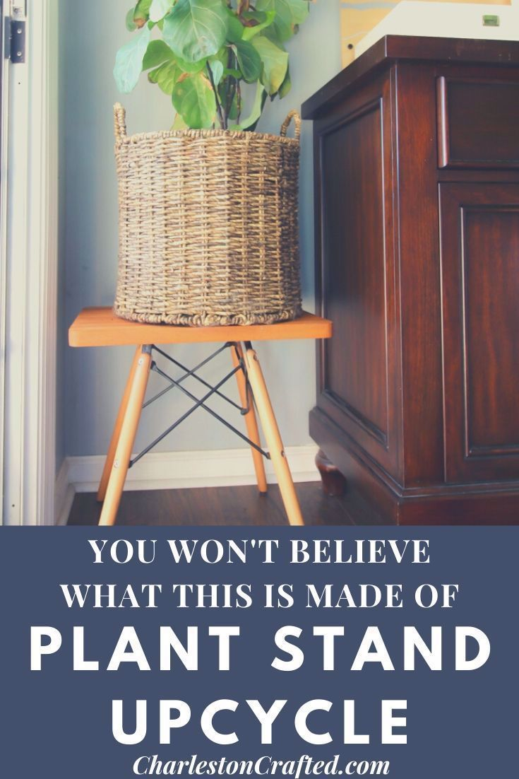 Thrift Flip: You won't believe what we upcycled to make this modern side table!