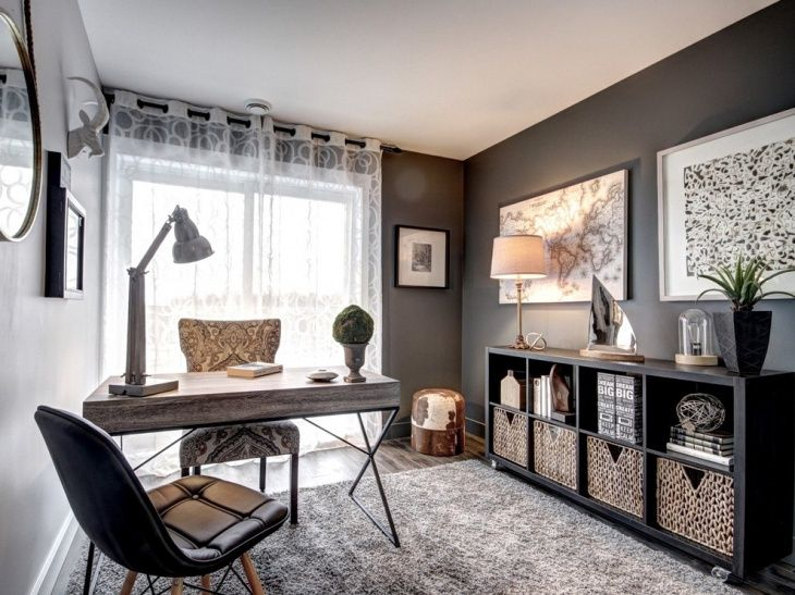55e1dc4dba92513875a98e5b0d0299ba - 11+ Small Home Office Design Concepts  Images