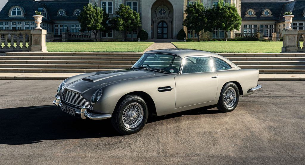 How Much Can This Aston Martin Db5 Fetch On Bring A Trailer Carscoops Aston Martin Db5 Aston Martin Db5