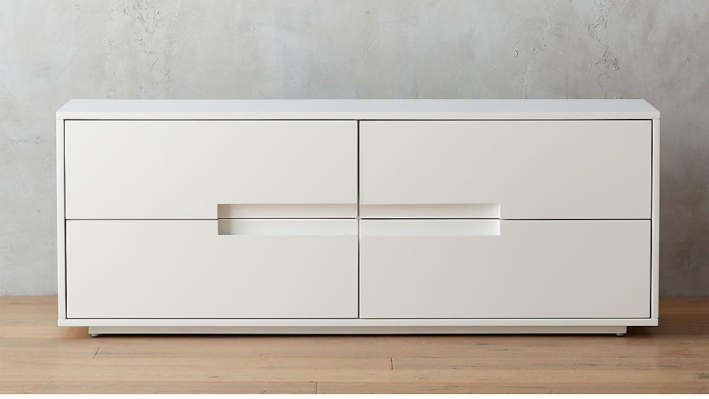 Latitude White Low Dresser Reviews Low Dresser Furniture