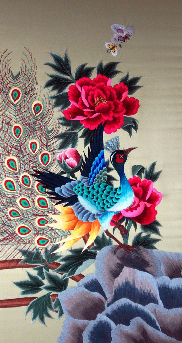 Korean embroidery traditional