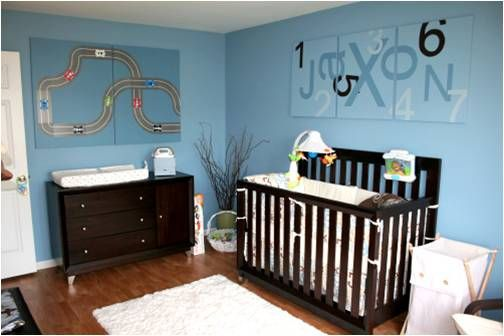 Hereu0027s An Excellent Idea For A Simple Baby Boys Room. Itu0027s Versatile Enough  To Be