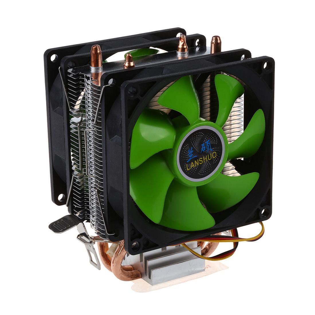 Процессор охладитель Silent Fan для Intel LGA775/1156/1155