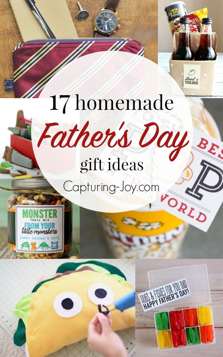 17 Homemade Father\'s Day Gifts | Dads, Homemade and Gift