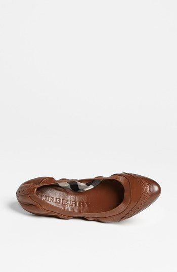 Burberry 'Berryfield' Flat (Online Only) | Nordstrom