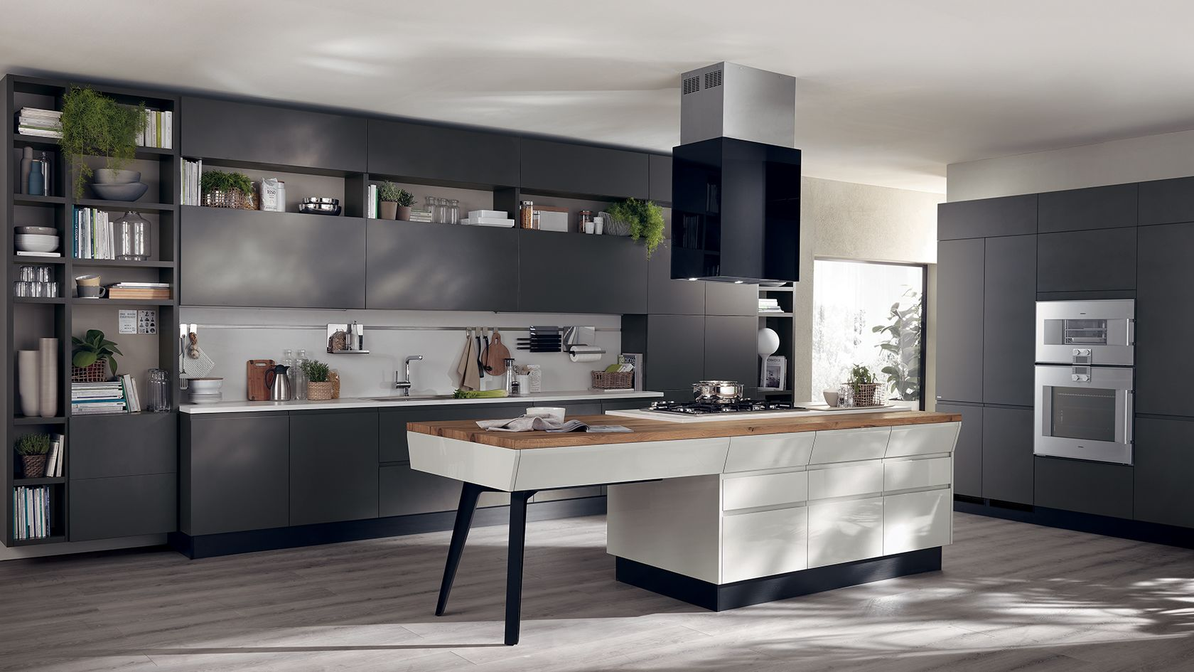 attractive kitchen design ideas by scavolini kitchens interesting rh pinterest com