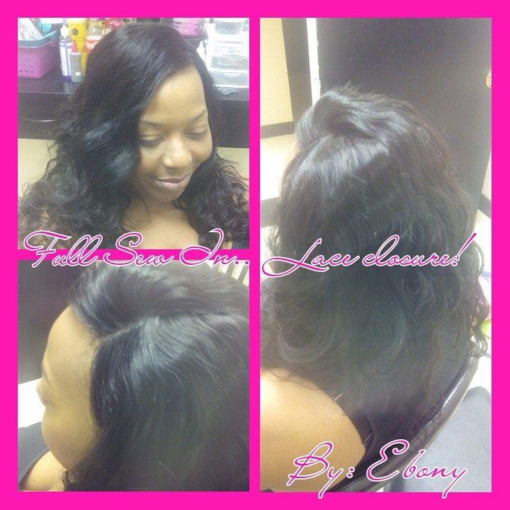 Full Sewin With Lace Clousure Dollhouse Salon 7345 Parklane Rd