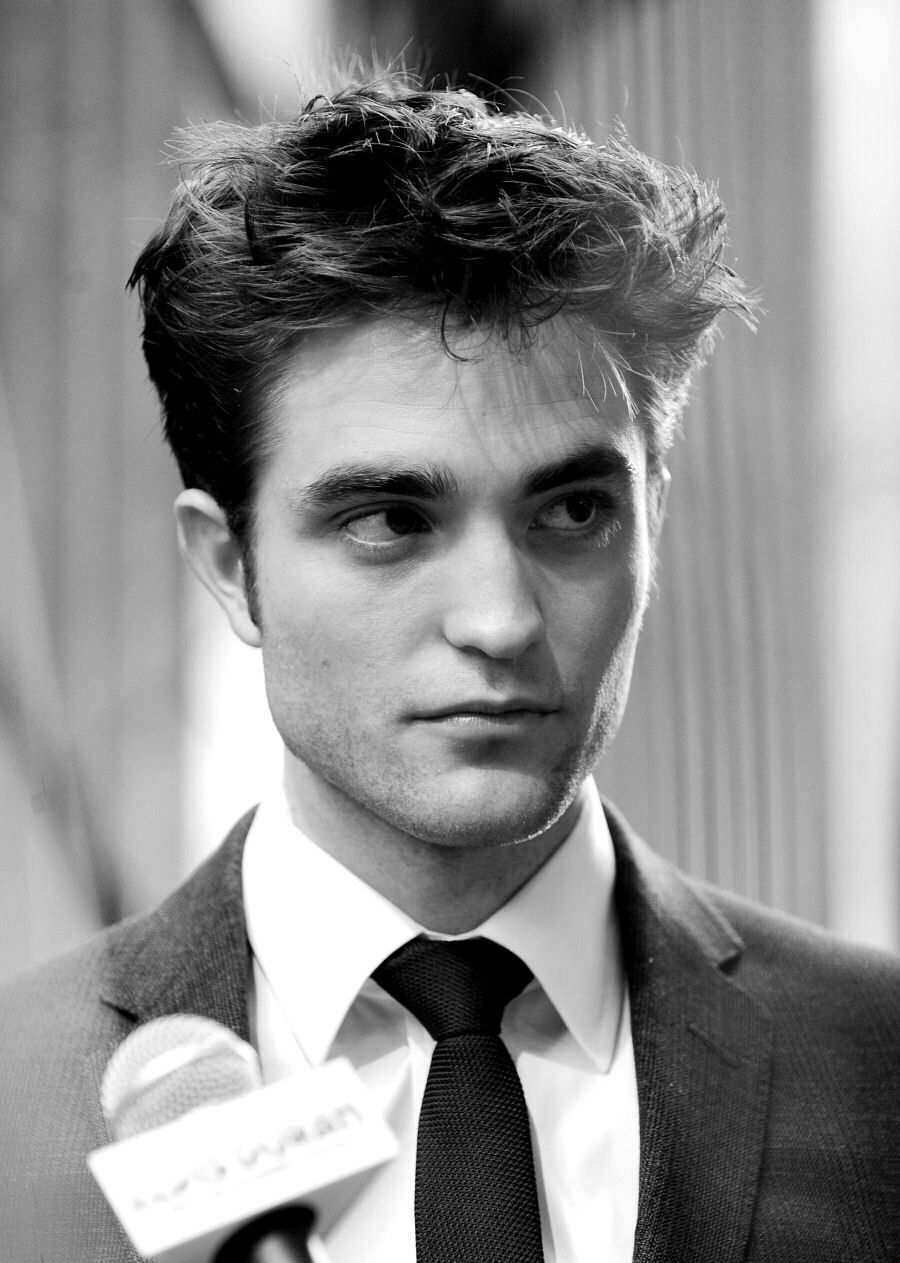 black and white boy cute hot robert pattinson