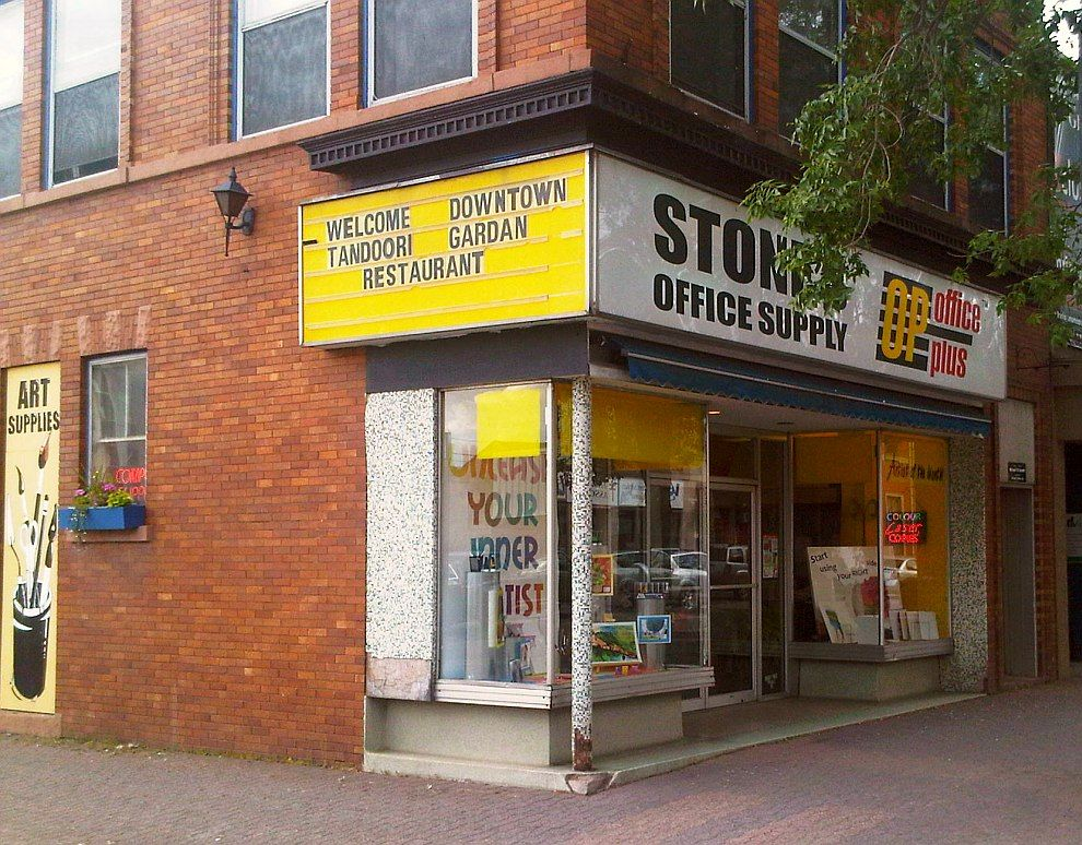 Stones Office Supplies A Long Standing Buisness