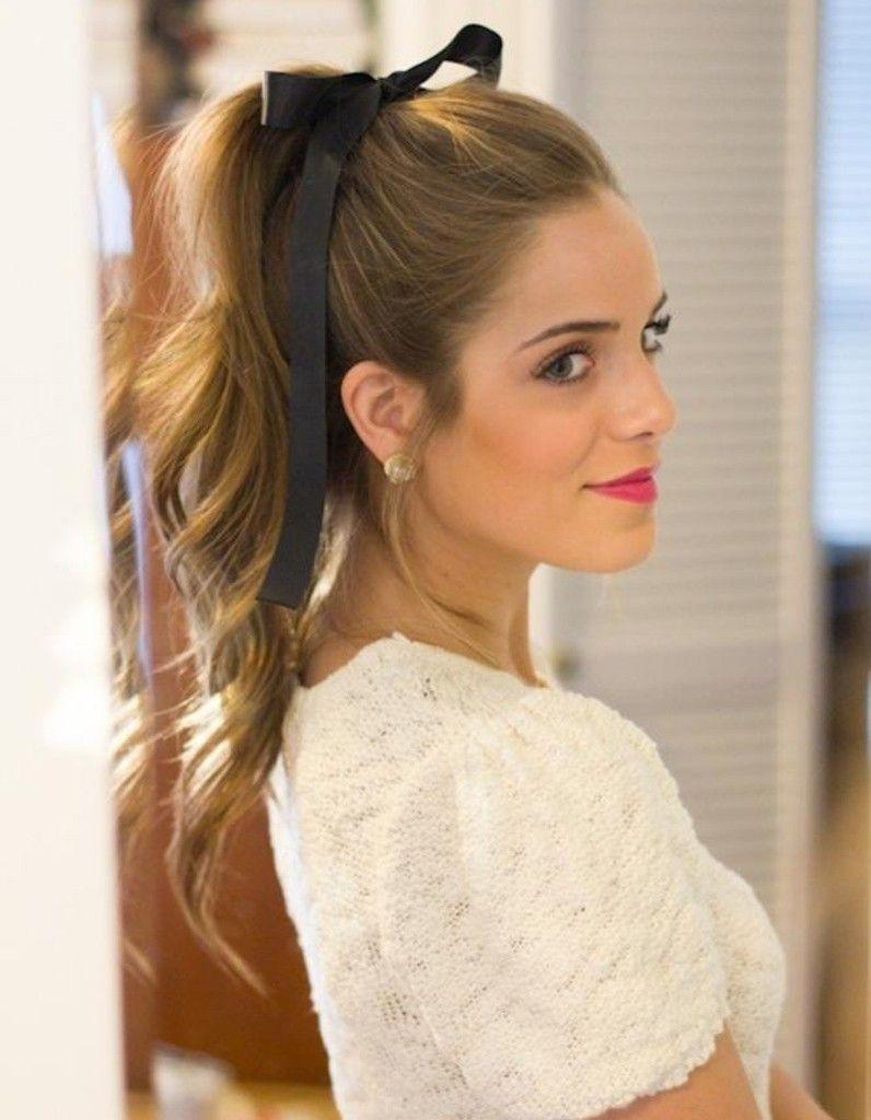 La queuedecheval coquette Beauty Hair style Coiffure