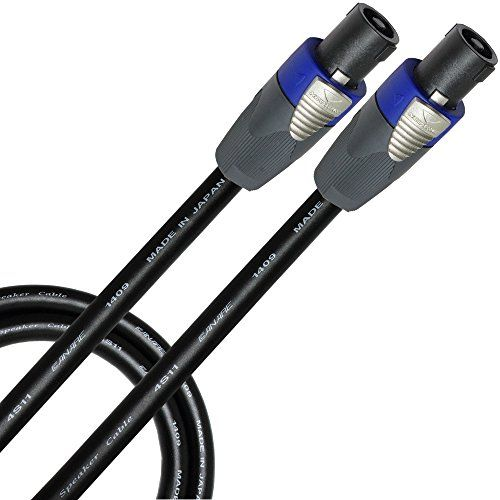 5 Foot Canare 4S11 BiAmp Speaker Cable Terminated with Neutrik NL4FX ...