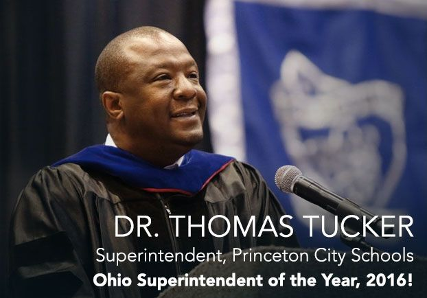 Dr Thomas Tucker Named Ohio Superintendent Of The Year