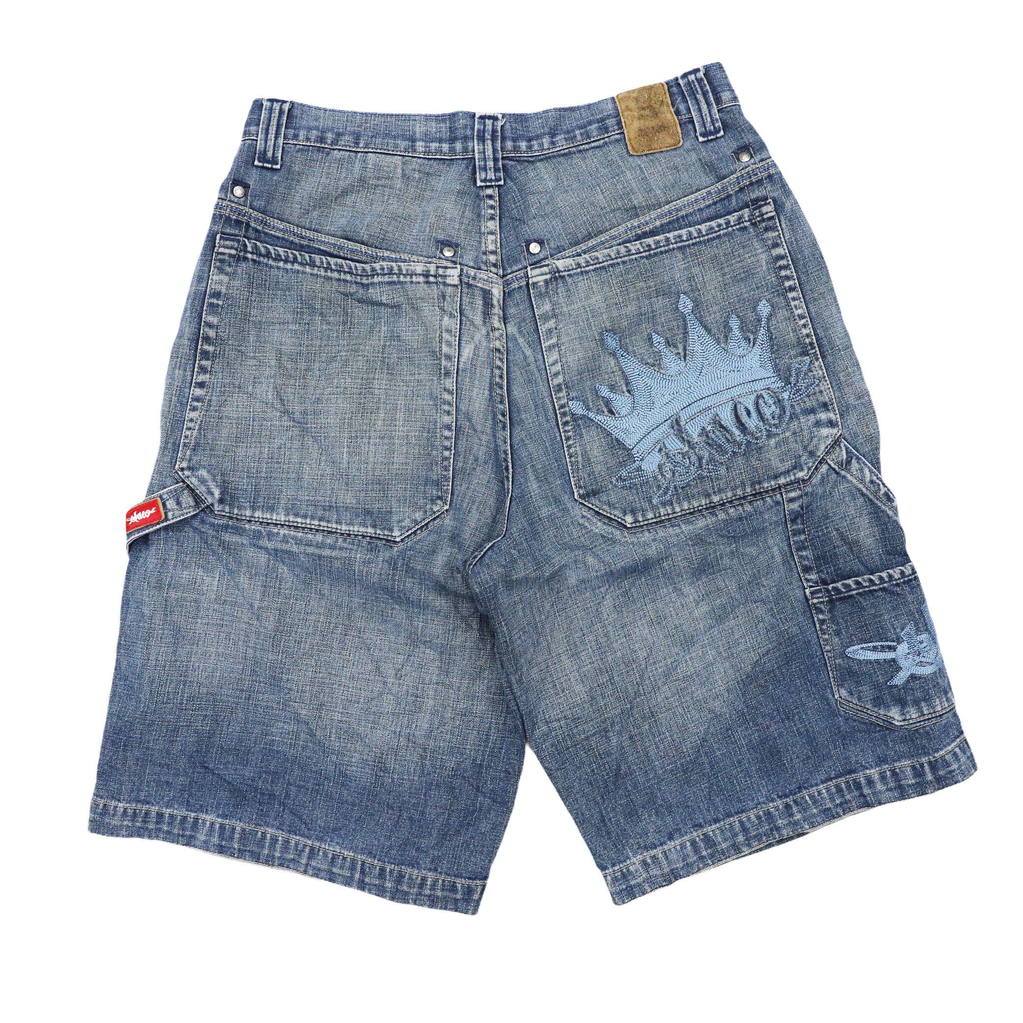 Vintage JNCO JEANS Shorts Size 31 in   90s Hip Hop Shorts  vintage skateboards Shorts