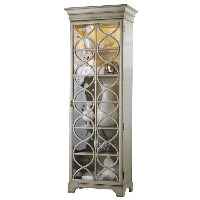 $988.95  All the way to the ceiling, baby.  Celeste Display Cabinet - Hooker on Joss and Main