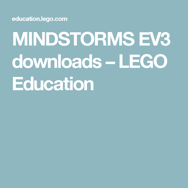 Lego Education Ev3 Curriculum - The Best Education 2017