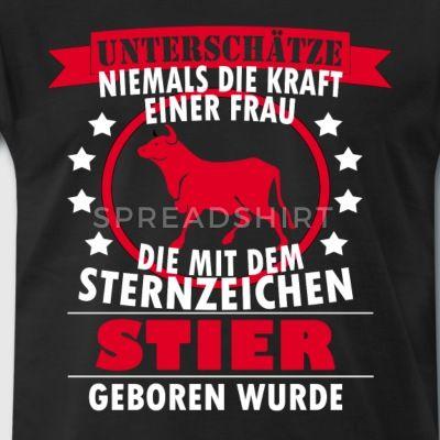 Sternzeichen Stier T Shirt Geschenk Männer Premium T Shirt