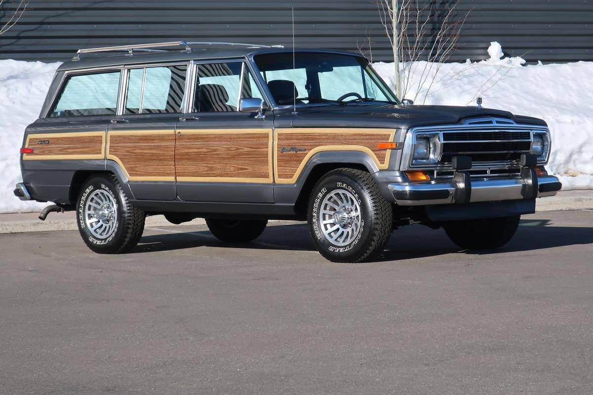 1989 Jeep Wagoneer For Sale 2249374 Hemmings Motor News Jeep