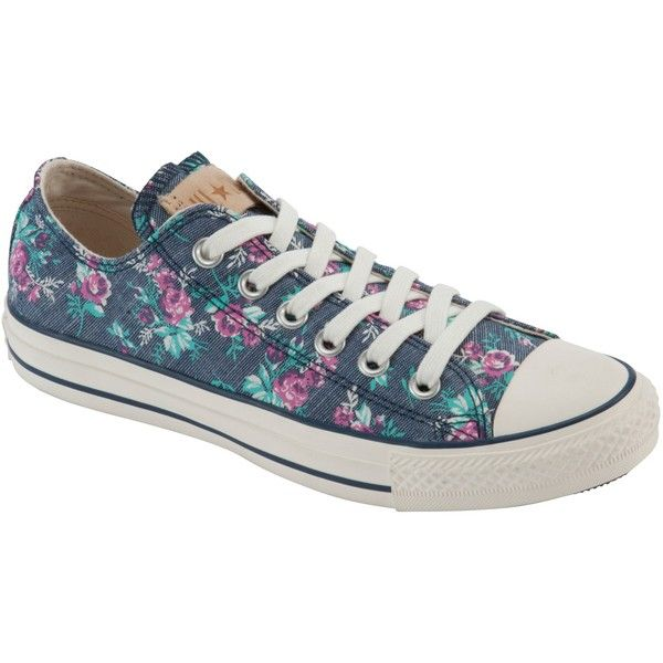 63560924dd50 Converse Chuck Taylor All Star Floral Print Trainers