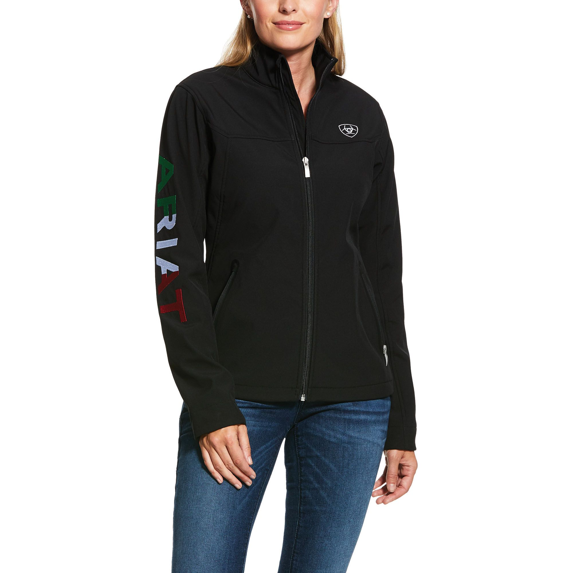 Classic Team Mexico Softshell Water Resistant Jacket Water Resistant Jacket Soft Shell Jacket Jacket Style [ 2000 x 2000 Pixel ]