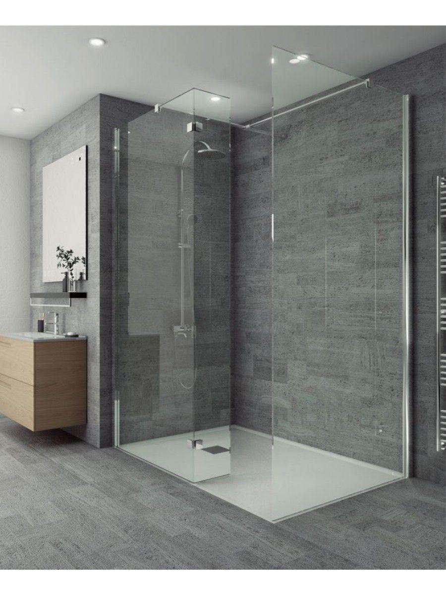 Salon Range 300mm Wetroom Fixed Return Panel Bathroom Wall Panels Bathroom Interior Design Small Bathroom