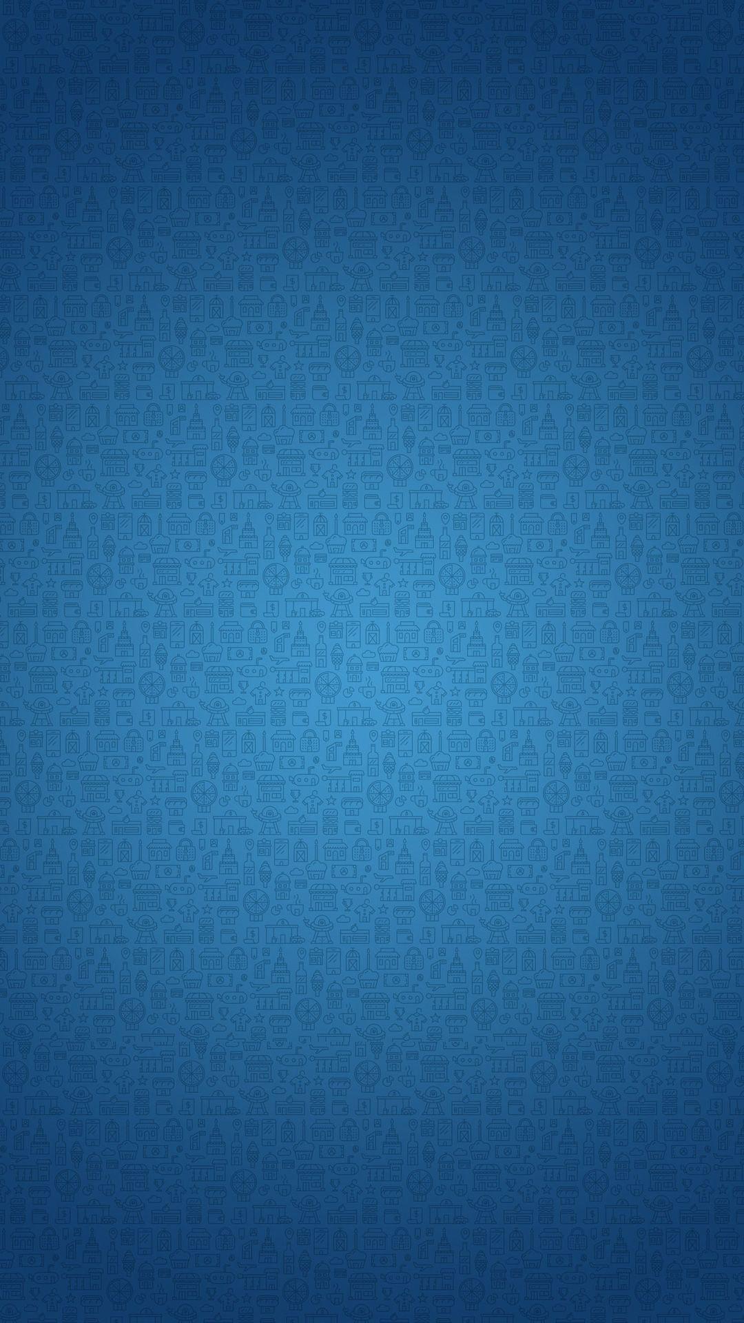 おしゃれな模様 ブルー 6s 壁紙 テクスチャ