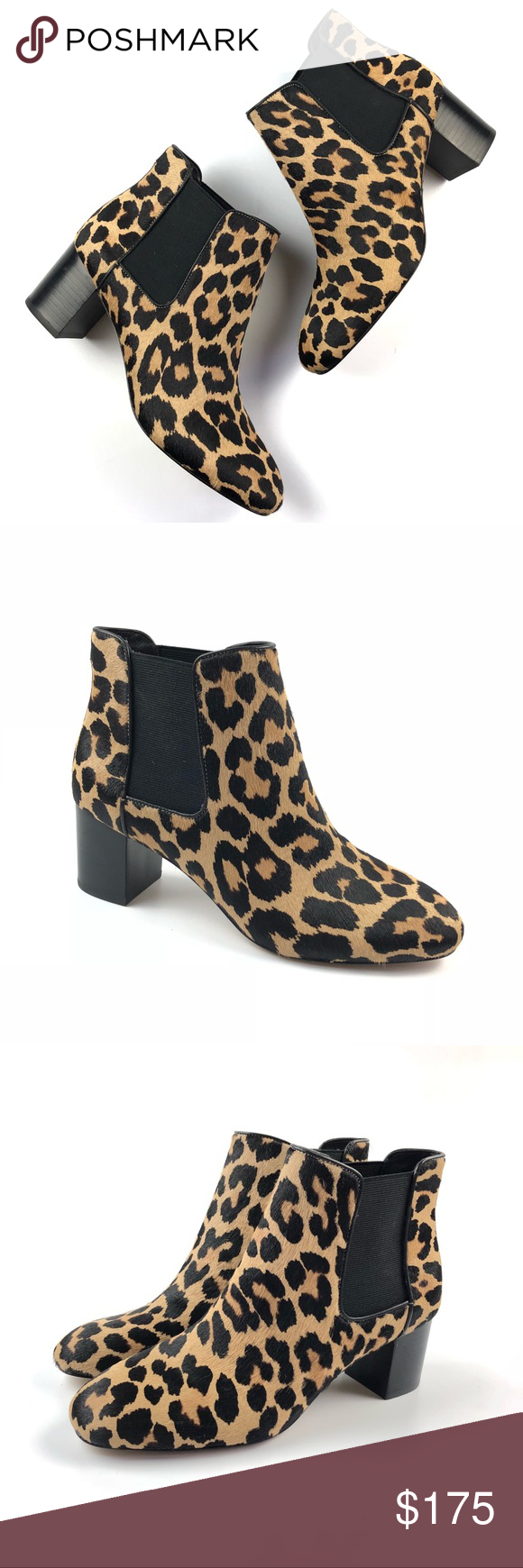 908fa691da2c Kate Spade Leah Cow Skin Leopard Booties NEW Sz 10 New without box ...