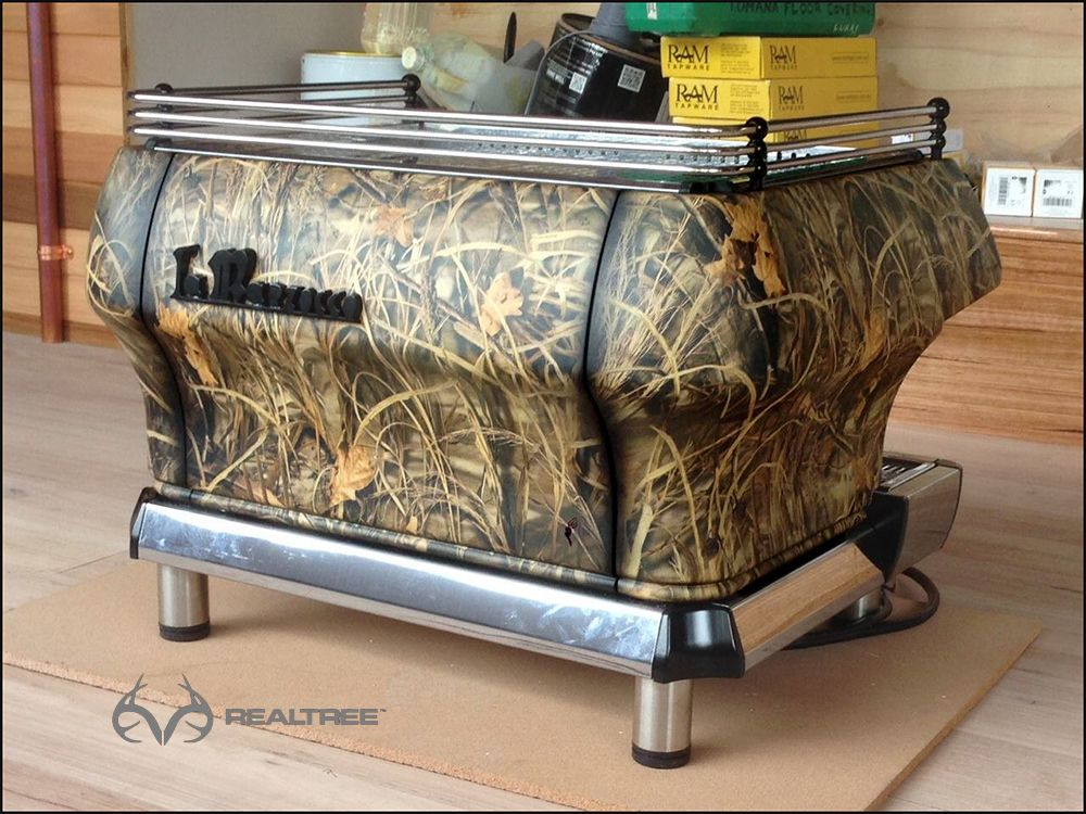 High Quality Custom Realtree Camo Coffee Maker #Realtreecamo #camogear