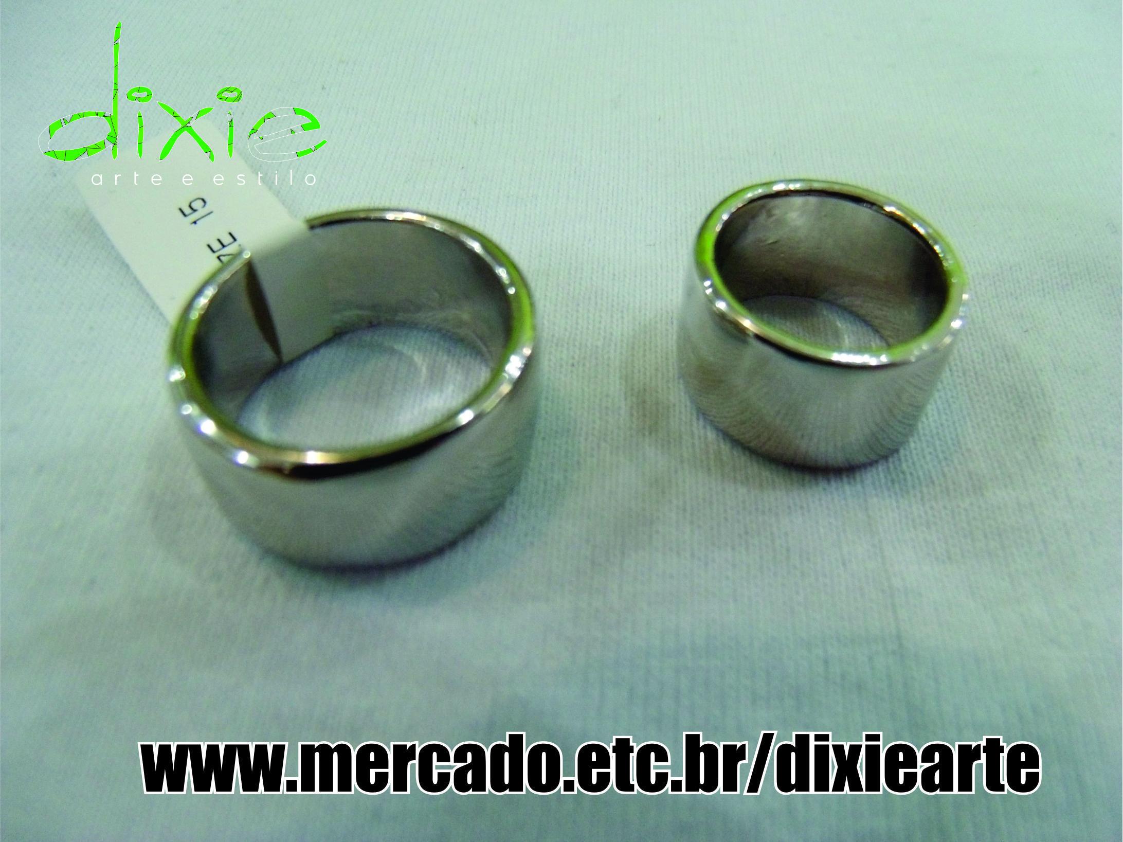 Anel Bandage Prateado  www.mercado.etc.br/dixiearte