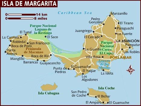 Margarita island venezuela map google search world locator margarita island venezuela map google search sciox Images