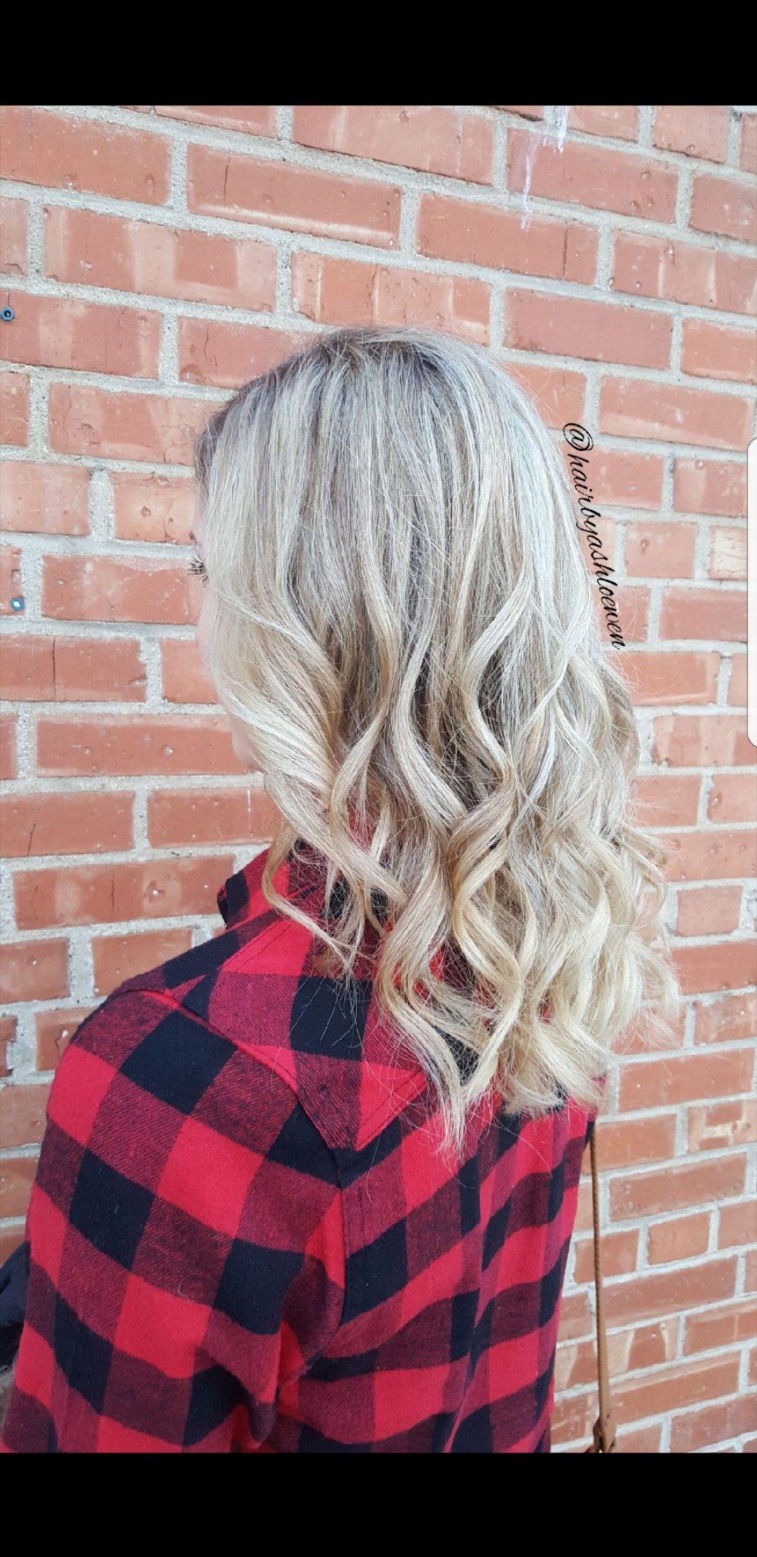 ❄💙  #BlondeMe #Schwarzkopf #ashyblonde #foils #highlights #yeghair