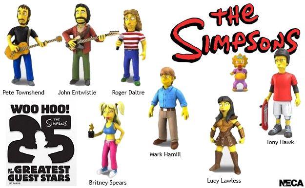 Simpsons 25 Anniversary Celebrities Series 2.