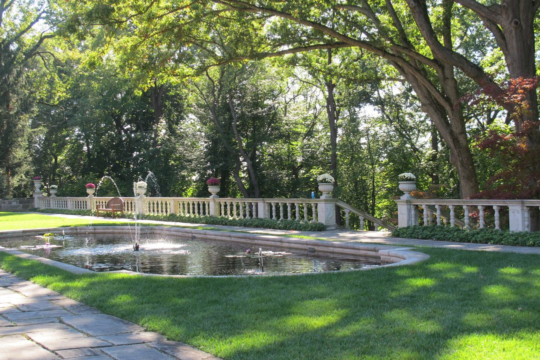 West Terrace and Overlook at Stan Hywet Hall and Gardens | Gardens ...