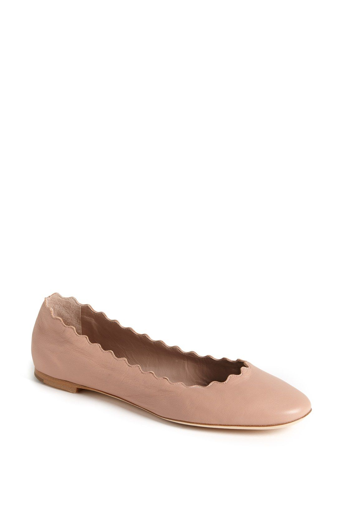 Chloé Women's Scalloped Ballet Flat