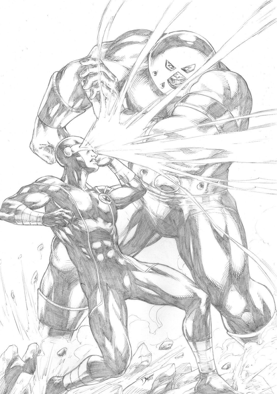 Cyclops Vs Juggernaut Cyclops Deviantart X Men