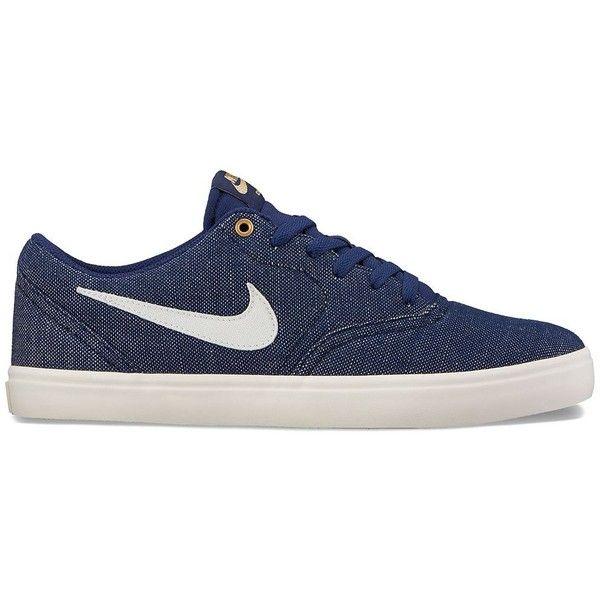 Nike SB Check Solarsoft Canvas Premium Men's Skate Shoes