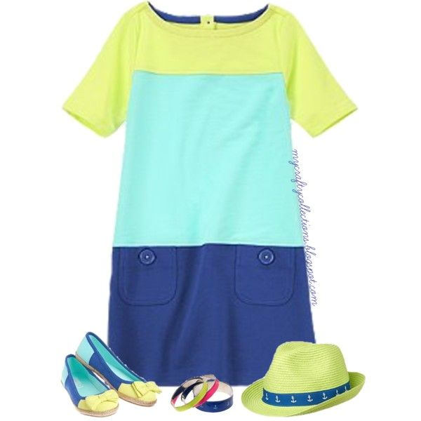 Girl's Outfit - Seaside Brights, created by angiejane on Polyvore