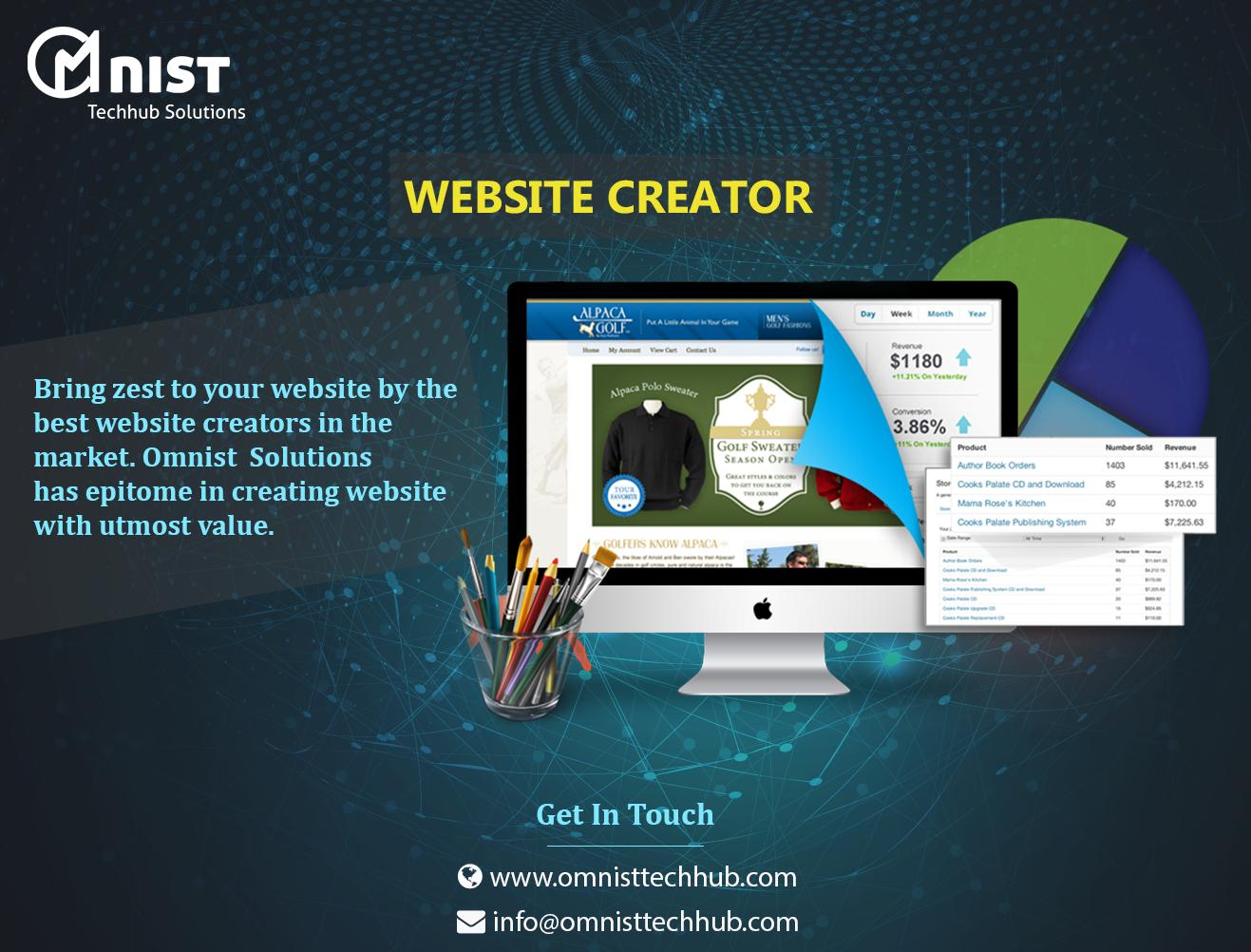 Bring zest to your website by the best, website creators