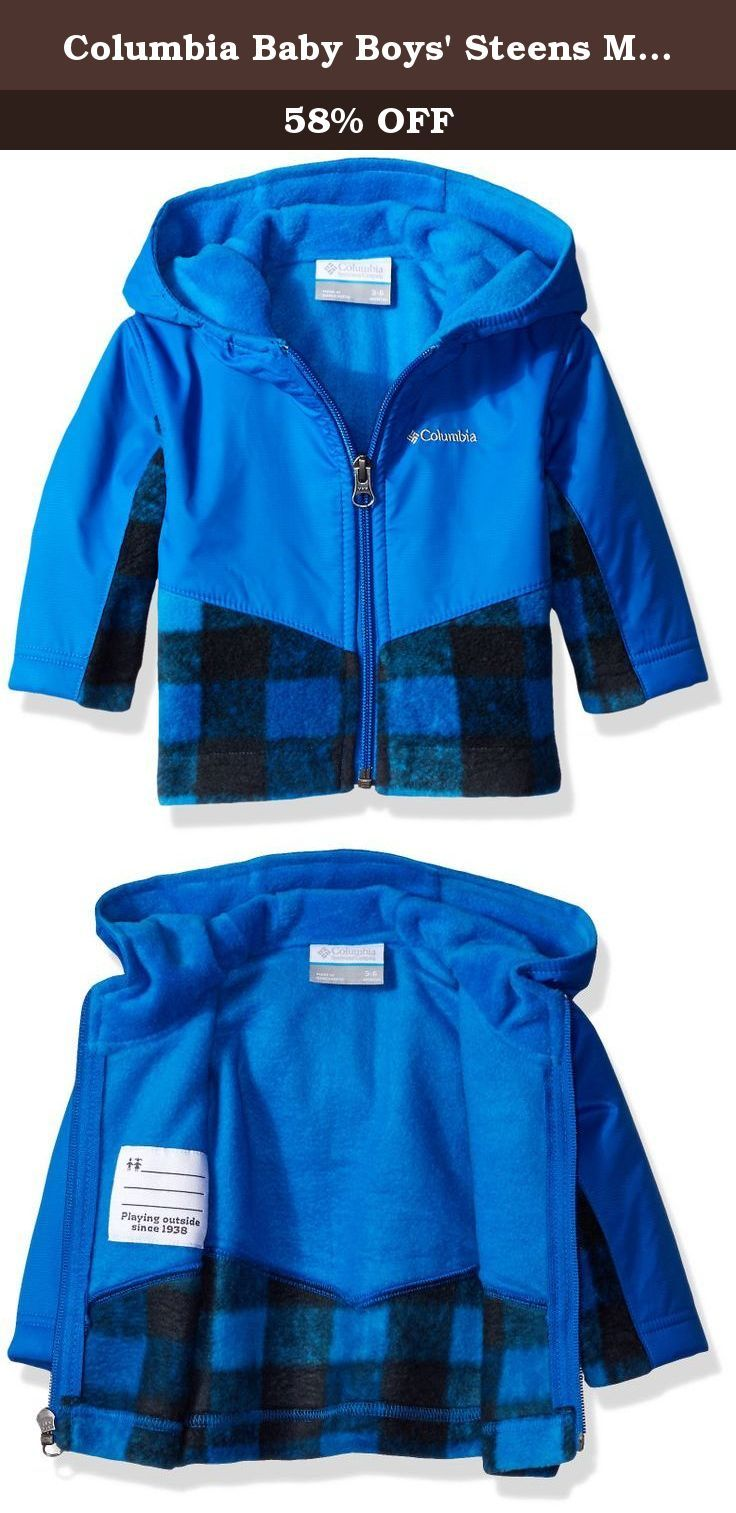 83a156875 Columbia Baby Boys  Steens Mt Overlay Hoodie