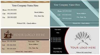 Free Business Card Templates For Openoffice  Free Printables