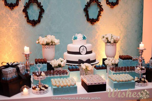 Wishes Eventos  Aniversário 30 Anos  Inspiração Tiffany   Co ... 4407e9a2bd