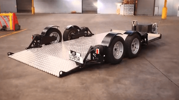 Airbagged Trailer The Ultimate Car Trailer For Smooth