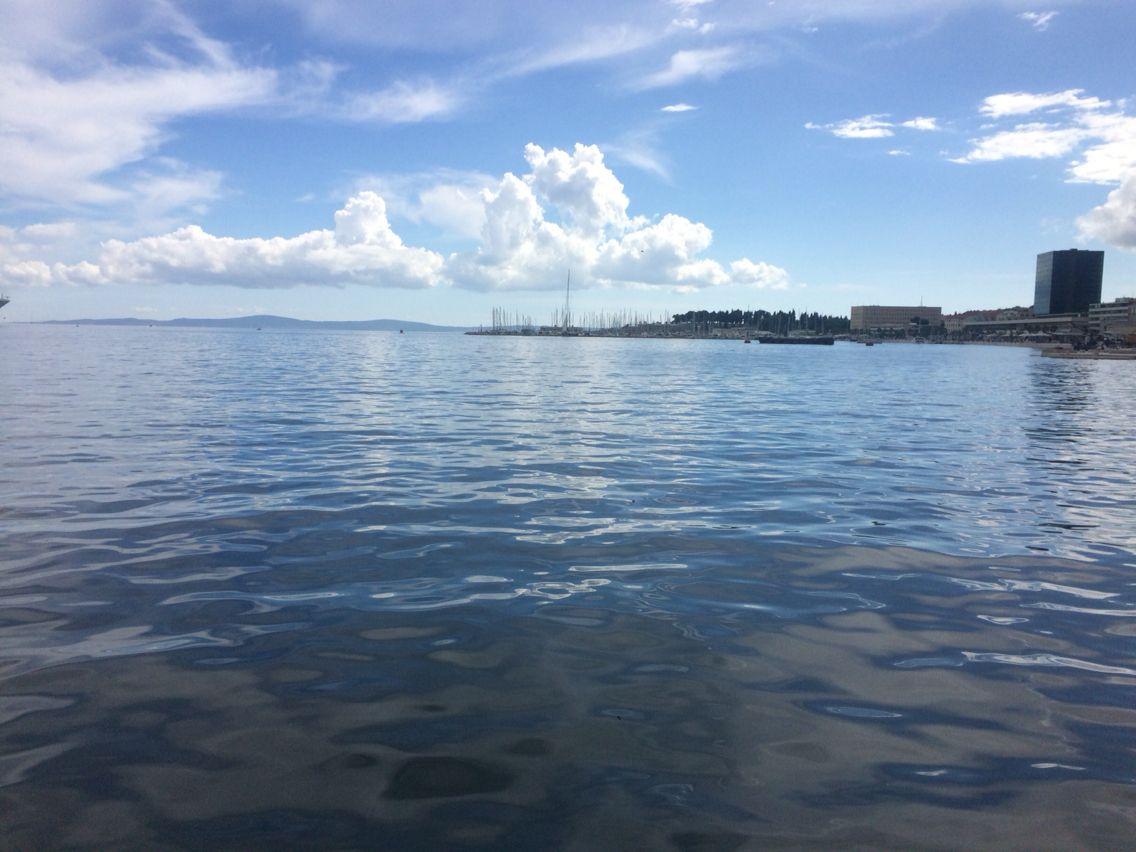 Split seafront.