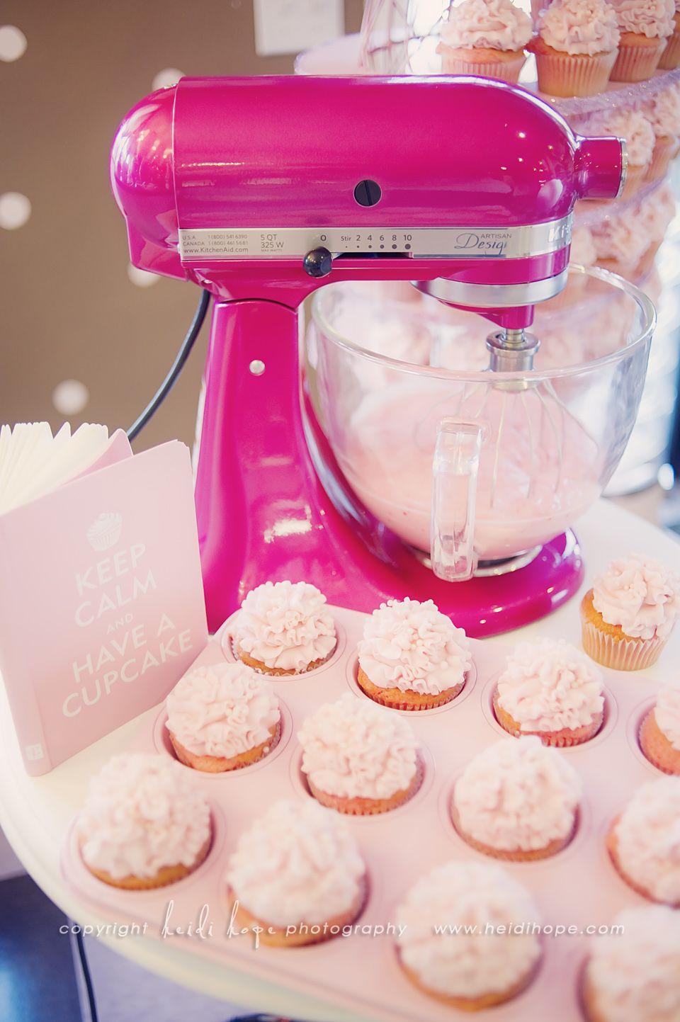 Hot Pink Kitchenaid Mixer That Sparkles I Want One Really Bad