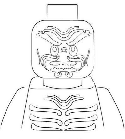 Ninjago Lord Garmadon Coloring | Ich | Ausmalbilder, Ninja ...