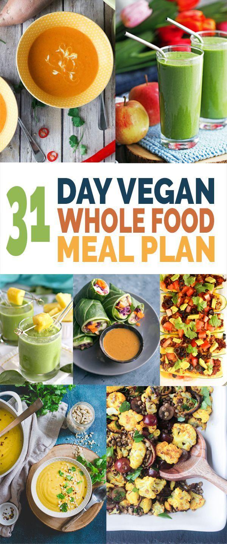 Veganer 31-tägiger Vollwert-Verpflegungsplan,  #31tägiger #vegandietplan #Veganer #VollwertVe... #ketomealplan