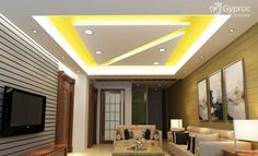 Beautiful Saint Gobain Gyproc Offers An Innovative Residential Ceiling Design Ideas  For Various Room Such As Living Room, Bed Room, Kids Room And Other Spaces.