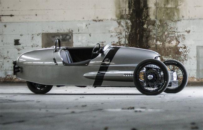 Morgan EV3 : Le 3 wheeler électrique. | My dream garage | Pinterest ...